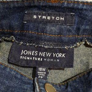 Jones New York Plus Jeans